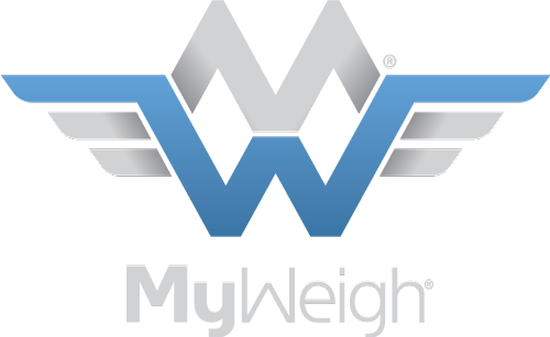 My Weigh Logo Light